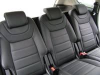 Highlight for Album: Ford S-max 2011 in RGS Handmade leder zwart 000 met zilver stiksel
