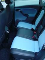Highlight for Album: Seat Altea 2006 Zwart met lichtblauwe middenvlakken