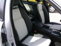 Highlight for Album: Mercedes C-klasse 2010 RGS Handmade zwart 000 met Pebble 001 middenvlakken geperforeerd